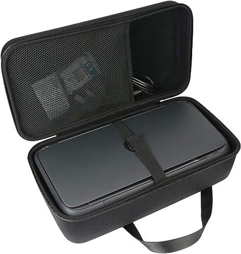pour HP Officejet Mobile 250 Imprimante Portable Multifonction EVA Dur Cas Voyage Etui Housse Sac Case by Khanka