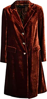 ETRO Luxury Fashion Womens 175060621150 Brown Coat | Fall Winter 19