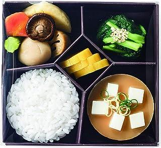 サンメニー 仏具 お供え膳 お供え料理セット ご飯×1、吸い物×1、おかず×1、和え物×1、漬け物×1 17.8 x 16.6 x 12cm 5点セット 食品サンプル *食べ物ではありません*仏膳はついておりません 日本製