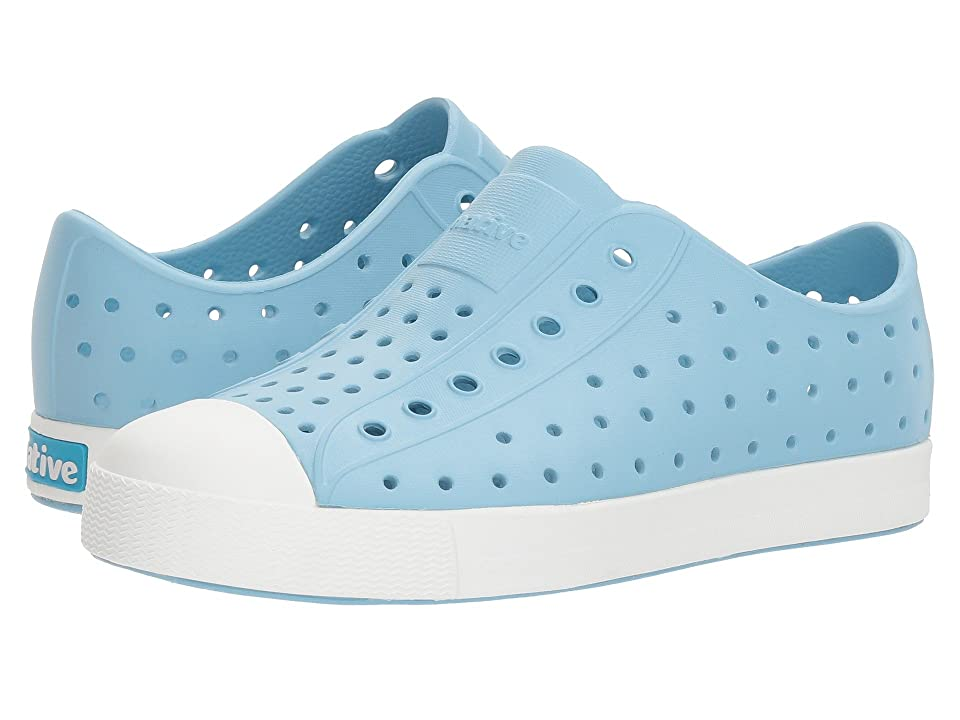 Native Kids Shoes Jefferson (Little Kid/Big Kid) (Sky Blue/Shell White) Kid