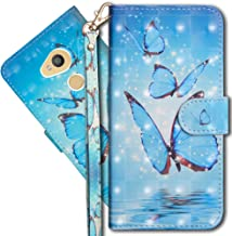 Sony Xperia L2 Wallet Case, Xperia L2 Premium PU Leather Case, COTDINFORCA 3D Creative Painted Effect Design Full-Body Protective Cover for Sony Xperia L2 2018 (5.5 inch).