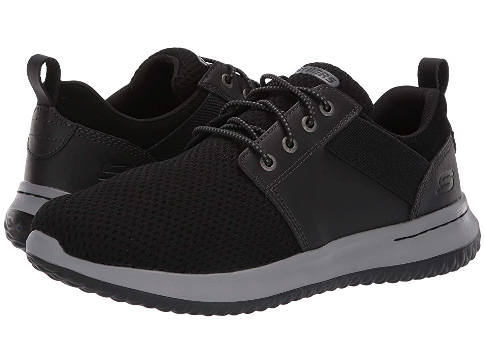 SKECHERS Delson Brant (Black) Men