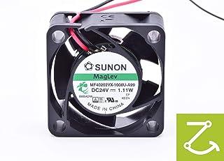 SUNON MF40202VX 1000U A99 Lüfter 40x40x20mm 24V= 18,3m³/h 27,5dBA 8000U/min. +DATENBLATT als QR Code