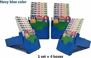 bridge bidding boxes