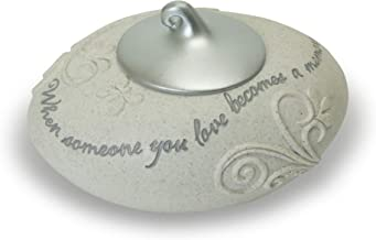 """Abbey Gift Becomes A Memory Tea Light Holder W/Silver Cover, 5"""" x 2 1/2"""", Multicolor"""