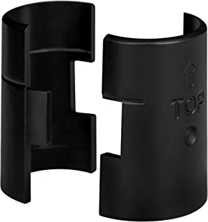 DuraSteel Wire Shelving Shelf Lock Clips / Shelving Sleeves - Fits with Thunder Group, Alera, Honey Can Do, Eagle, Regency, Metro and more - For 1