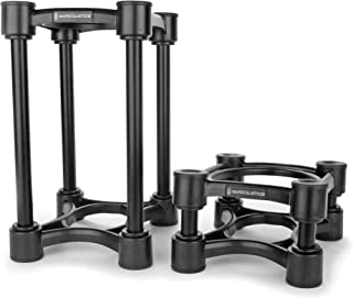 "IsoAcoustics Iso-Stand Series Speaker Isolation Stand, Iso-130 (5.1"" x 6"") Pair"