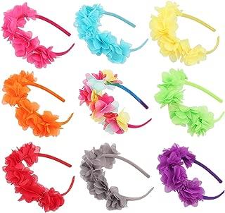 Flower Crown Headband Wedding Festival Parties Floral Hairband