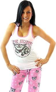 Soft Kitty Pink Athletic Junior Sleep Set Pajama