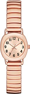 Folio Women's Rose Gold-Tone Expansion Watch