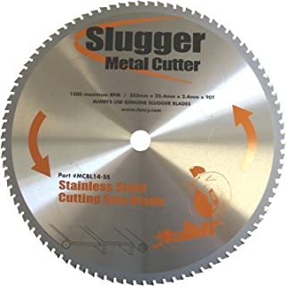 Jancy Slugger MCB14-SS Stainless Steel Cutting Saw Blade, 14