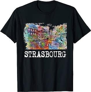 Strasbourg Shirt - Alsace T Shirt tShirt Tee T-Shirt