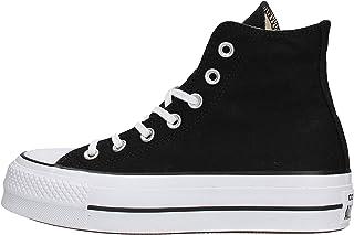 Converse Chuck Taylor All Star Lift - Hi - Noir/Blanc/Blanc Canvas