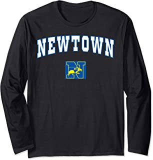 Newtown High School Nighthawks Long Sleeve T-Shirt C2