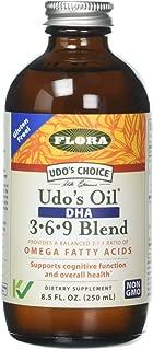 Flora Inc Udo's Dha Oil Blend 8.5-Ounce Bottle