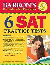 Barron's 6 SAT Practice Tests (Barron's Test Prep)