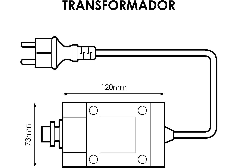 Prilux–Trafo 24V 120W ohne Gleichrichter