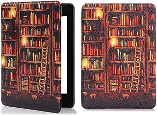 Case para Novo Kindle 10a. geração com iluminação embutida Função Liga/Desliga (Biblioteca)