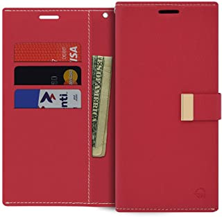 LG V30 Wallet Case, Slim PU Leather Flip [Folio Style] Protective Cover with [Card Holders & Magnetic Closure] Kickstand &...