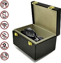 Nefeeko Car Key Signal Blocker Box, Anti Theft Faraday Box for Car Keys Fob Phones Cards, RFID Signal Blocking Case Large Safe Box for Car Keys Protector for Keyless Entry