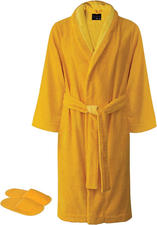 Faccia dei Colori Collection Bath Robe with Slippers Set | Made in Europe