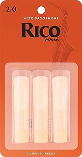 Rico Alto Sax Reeds, Strength 2.0, 3-pack