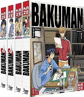 Bakuman - Intégrale Saison 1 & 2 Dvd - Pack 4 Coffrets - 12 Dvds