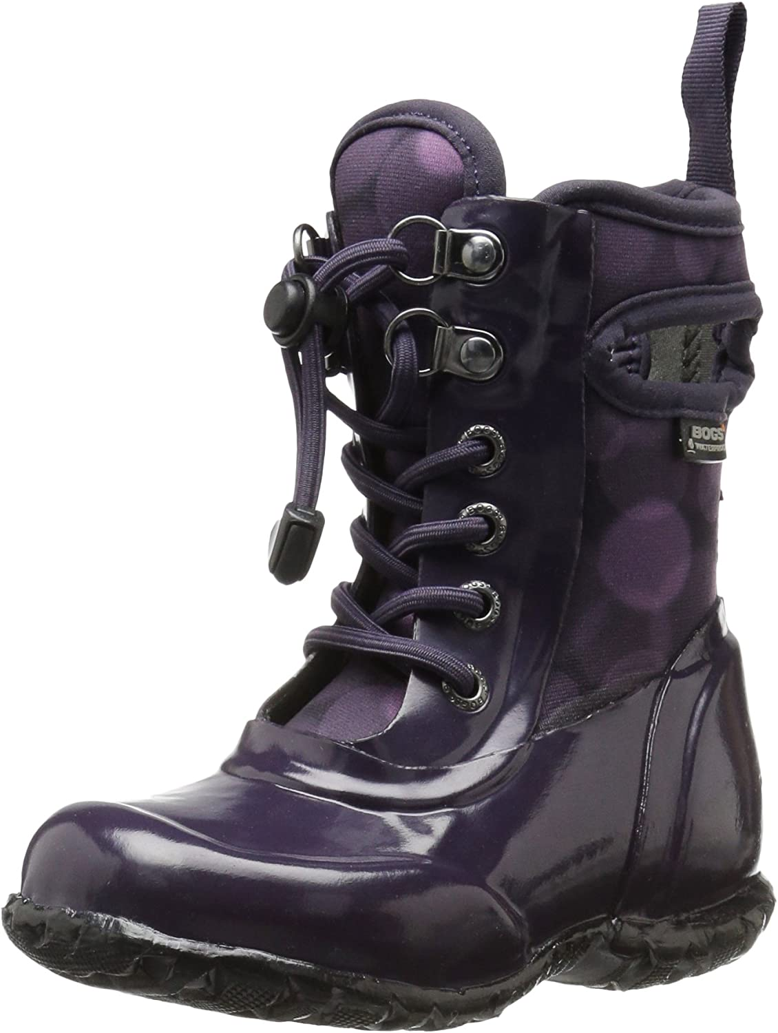 Bogs Sidney Kids Waterproof Ranking TOP14 Lace Ranking integrated 1st place Up Girl for and Boot Boys Rain