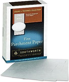 Southworth 974C Parchment Specialty Paper Gray 24 lb. 8 1/2 x 11 500/Box