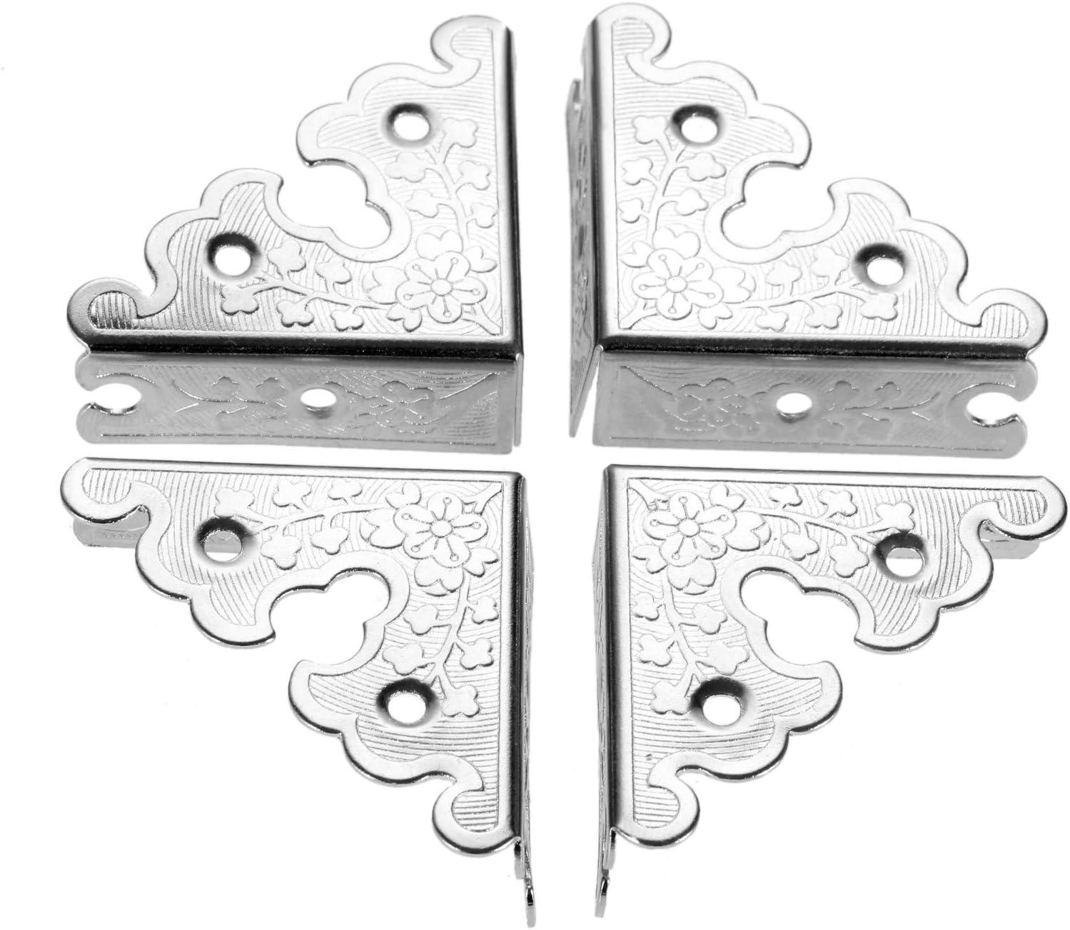 4Pcs Jewelry Wooden Box Chest Protector E Popularity Furniture Guard Cheap bargain Corner
