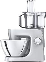 خلاط حامل متعدد الاستخدامات من كينوود – ماكينة مطبخ الكل في واحد مع خفق K وخلاط ووعاء سعة 4.3 لتر، KHH326SI ، فضي