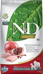 Farmina Natural & Delicious Prime Chicken & Pomegranate Adult Medium & Maxi Dog Food 5.5 lb