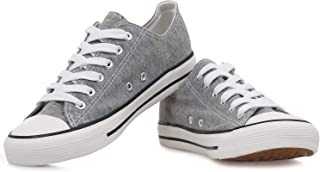 KE DI Leather USA Womens All Star Style S-3 Canvas Shoes...
