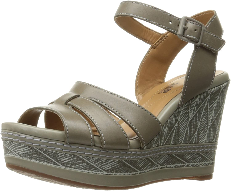 Clarks Womens Zia Noble Wedge Sandal