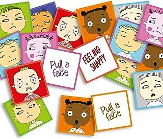 Feeling Snappy Game - känslor spel för barn att dra i ansiktet T3362