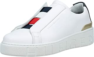 Tommy Hilfiger Tommy Corporate Dressy Women Sneakers, Red (Rwb)