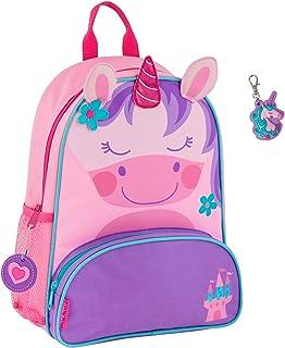 Stephen Joseph Girls Sidekick Unicorn Backpack and Zipper Pull