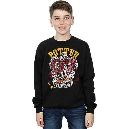 HARRY POTTER niños Gryffindor Seeker Camisa De Entrenamiento 12-13 Years Negro