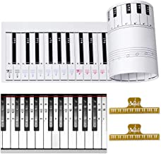 Ultimate Piano Keyboard Learning Aid Set - 1:1 Scale 88 Keys