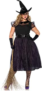 Women's Classic Darling Spellcaster Witch Halloween Costume