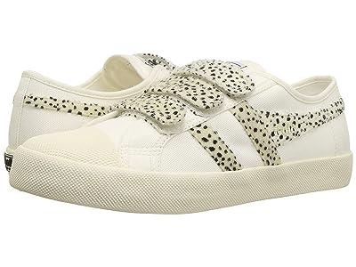 Gola Coaster Velcro Cheetah (Off-White/Cheetah) Women