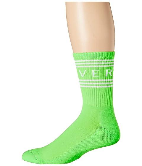 Versace Bright Versace Text Socks