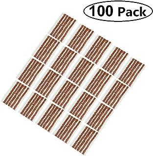 AIYUE Pack of 100 Tire Repair Strings, Tire Repair Strings Rubber Strips,Tire Repair Plugs(100mm x 6mm) for Cars