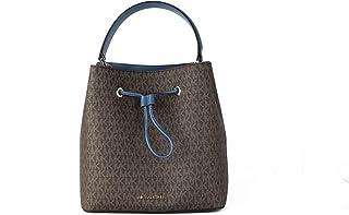 Michael Kors Suri Large Bucket Shoulder Bag Dark Chambray