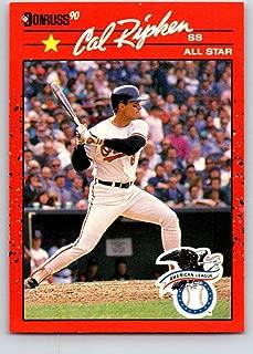 Baseball MLB 1990 Donruss #676a Cal Ripken Jr. AS NM-MT Orioles