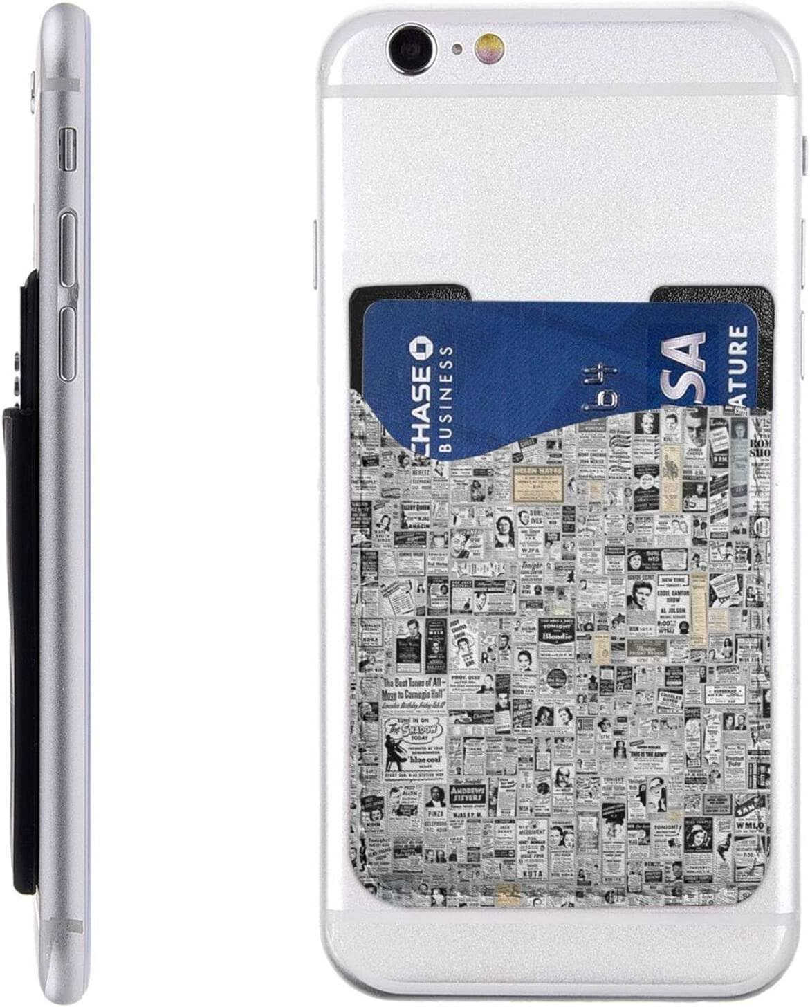 Newspaper Phone Card Holder Max 80% OFF Cell Wallet Stick cheap Slee On