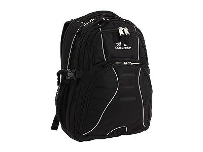 High Sierra Swerve Backpack (Black) Backpack Bags