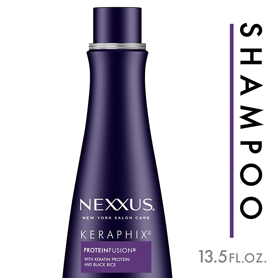 Nexxus Keraphix Shampoo, for Damaged Hair, 13.5 oz
