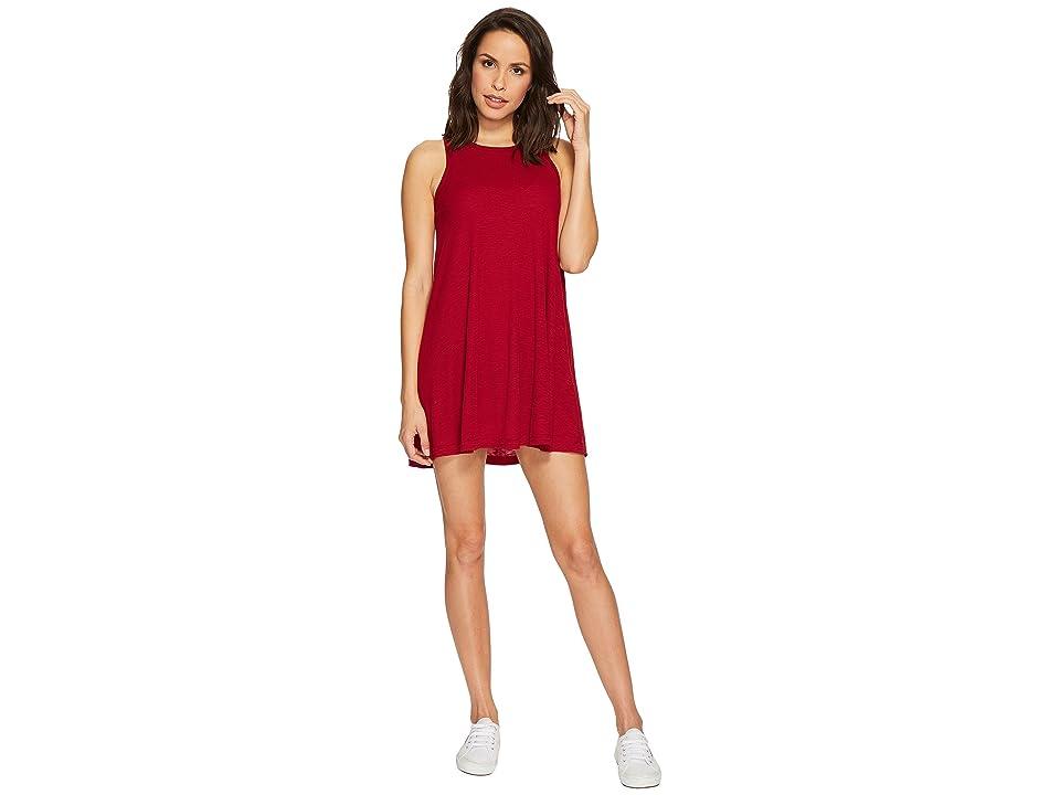 Free People LA Nite Mini Dress (Raspberry) Women