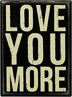 love you more sign primitives by kathy